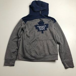 NHL Toronto Maple Leafs Gray Pullover Hoodie